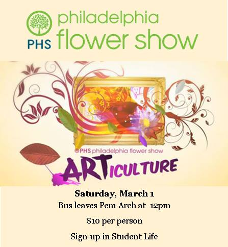 flower show poster